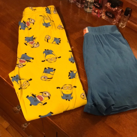 418e280f1499b1 Boys Minion Pajama bottoms. M 5a468247a44dbeb2f2118da8